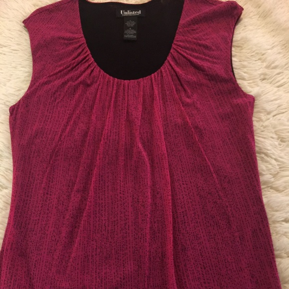 Unlisted Tops - KENNETH COLE production  Unlisted tank top